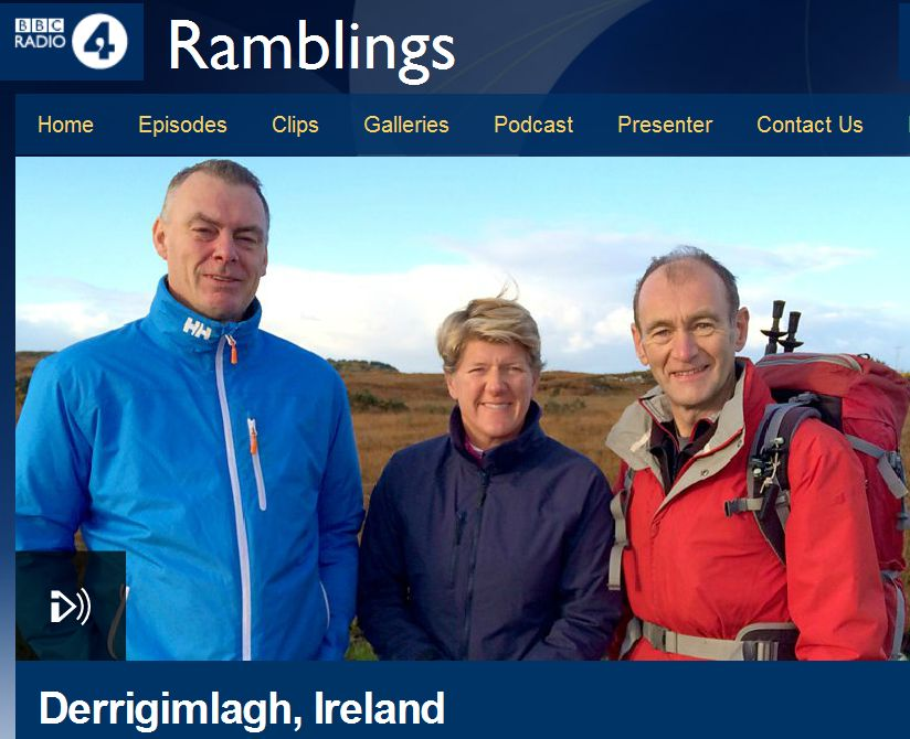 BBC Radio 4 Ramblings with Walk Connemara