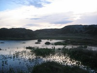 Lake on Inishbofin's Cloonamore Looped Walk