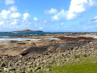 View of Cruach Island from Omey