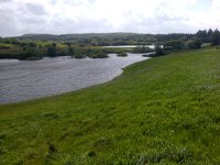 Swollen lakes along the Tochar Padraig
