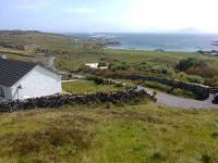 The Inishbofin house that hosted the Tubridy Show