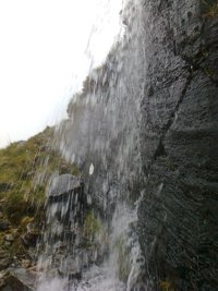 Waterfall in Gleann Mor